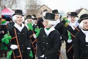 Närrische Rathauschefin: Ein bisschen Spaß muss sein.
