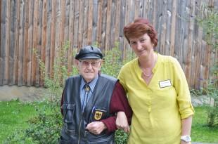 Herzlich: Susanne Hettinger und die »gute Seele des Hauses«, Johann Frasch