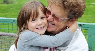 Liebe auf den ersten Blick: Luisa mit ihrer »Oma« Edith.