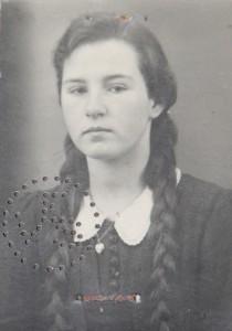 Marga Riffel (geb. Antoni) wurde beim Angriff verschüttet und konnte gerettet werden.