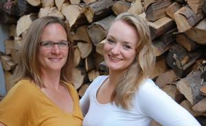 Frauenhaushalt auf Augenhöhe: Alexandra Nohl mit Tochter Solveig.