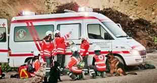 Rettungshunde Einsatzwagen