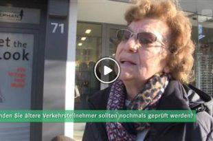 Bruchsal | Umfrage: Sollten ältere Verkehrsteilnehmer ihre Fahrtüchtigkeit überprüfen lassen?