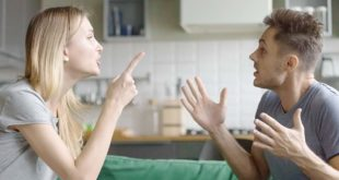Ehekrach-Streit-Paar