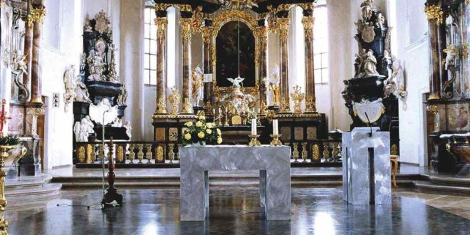 Peterskirche Altar | Bruchsal