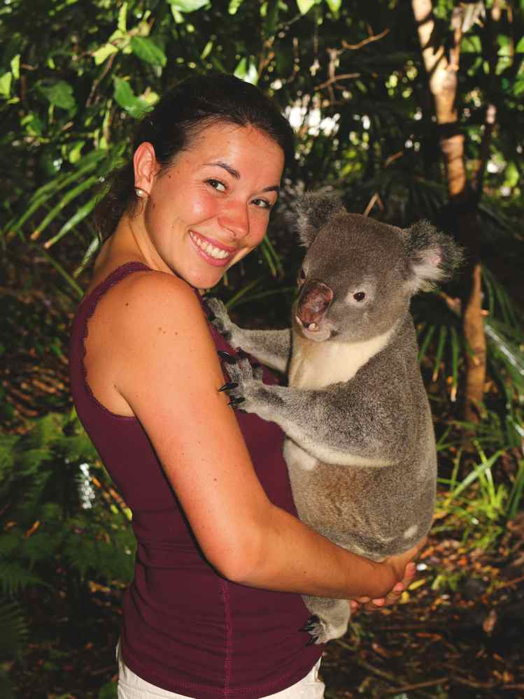 Brisbane Australien Janina Zindl
