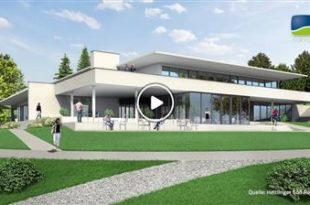 Tiefenbach   Mit Teamgeist und Leidenschaft zum neuen Clubhaus: Richtfest im Heitlinger Golf Resort
