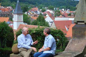 Eckbert von Bohlen und Halbach im Gespräch mit Ulrich Konrad