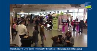 Bruchsal | KraichgauTV live beim Trauevent: die Highlights