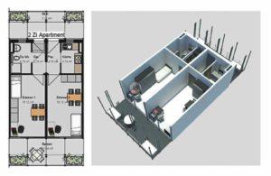 Doppelzimmer Apartment