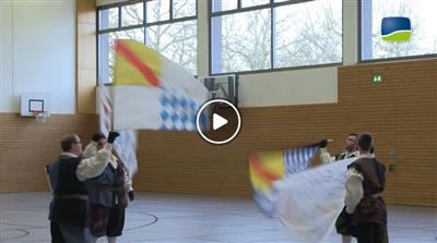 Bretten | Spaß mit Flaggen: Die Kraichgau-Fahnenschwinger