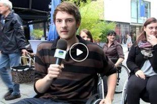 Bruchsal   Herausforderung für Rollstuhlfahrer: So barrierefrei ist Bruchsals Innenstadt
