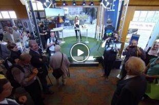 Bruchsal | Ministerpräsident Winfried Kretschmann und viele andere Gäste auf der KraichgauTV-Bühne
