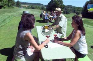 Tiefenbach   Heitlinger & Friends Weinwanderung und Gerümpelturnier im Heitlinger Golf Resort