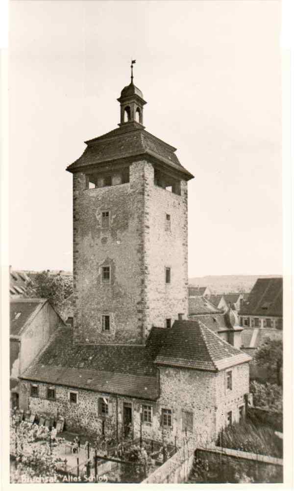 Bergfried (Gefängnis Turm) um 1920