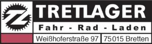 Logo und Adresse Tretlager Bretten