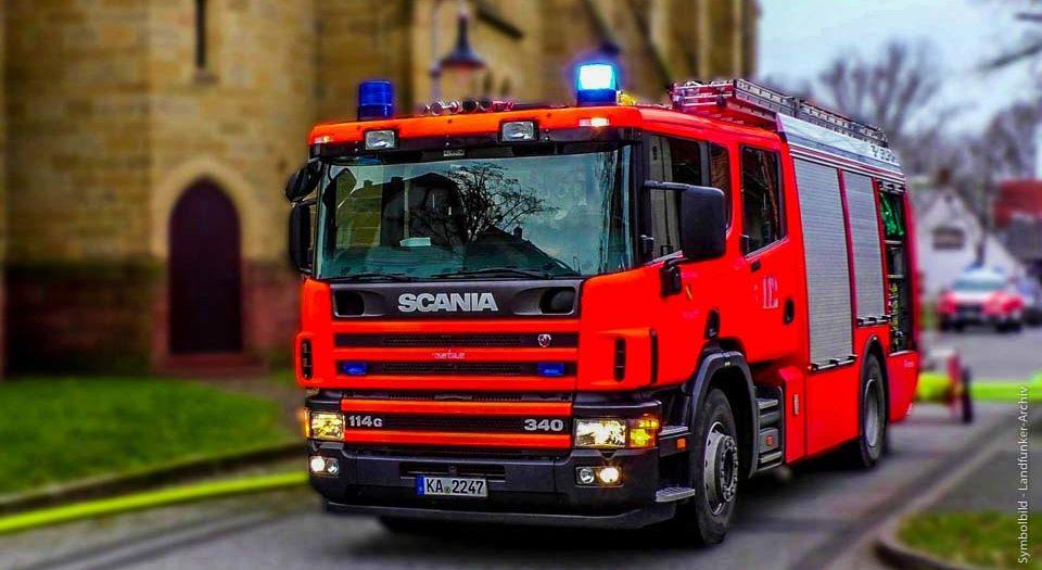 Feuerwehr-EInsatz