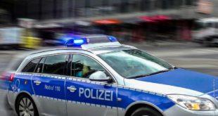 Polizei im Einsatz