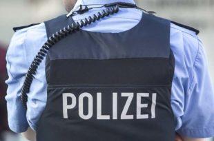 Polizist im Einsatz