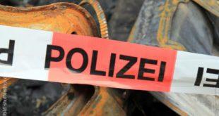 Polizeiabsprerrung Absperrband