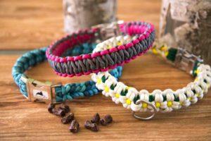 Geknotete Halsbänder | Ylvys Welt
