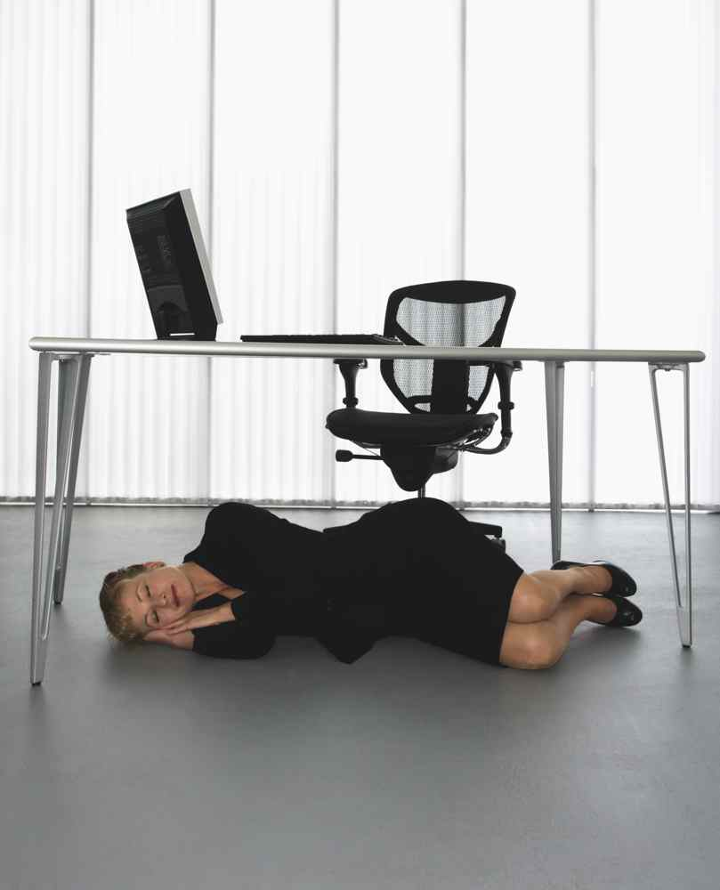 Powernapping am Arbeitsplatz
