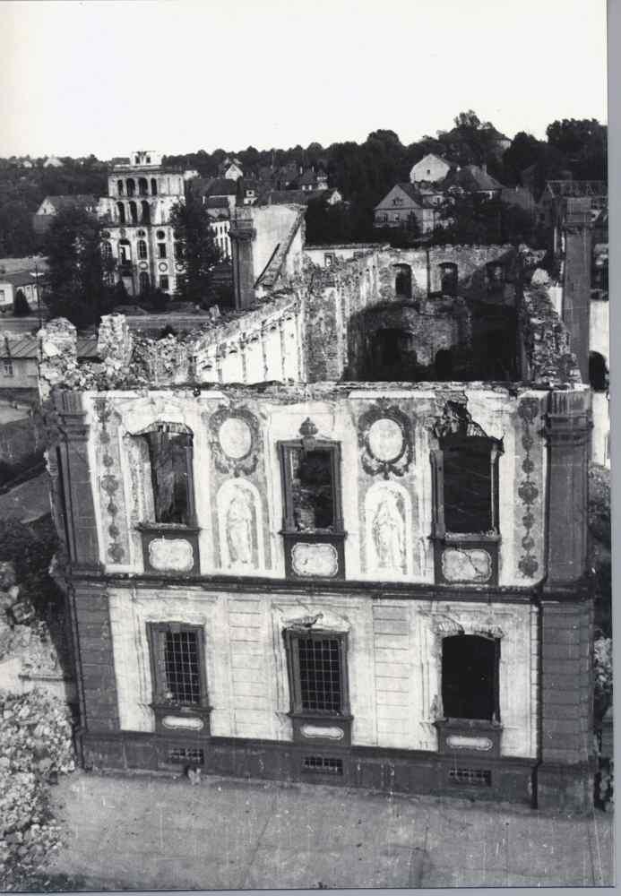 Hofkirche | Amtsgericht | Bombadierung