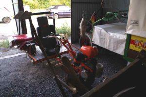 Umgebaut: Das Nachwuchs-Hako mit Kindersitz