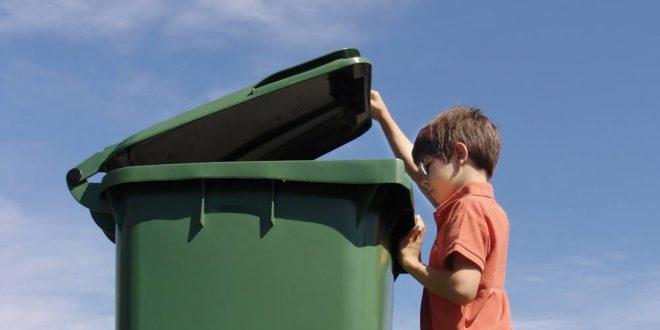 Symbolbild-Abfall-Entsorgung-Mülltonne