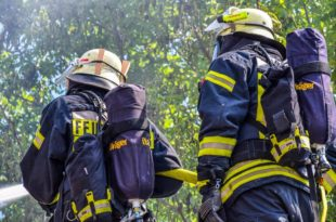Flächenbrände in der Region