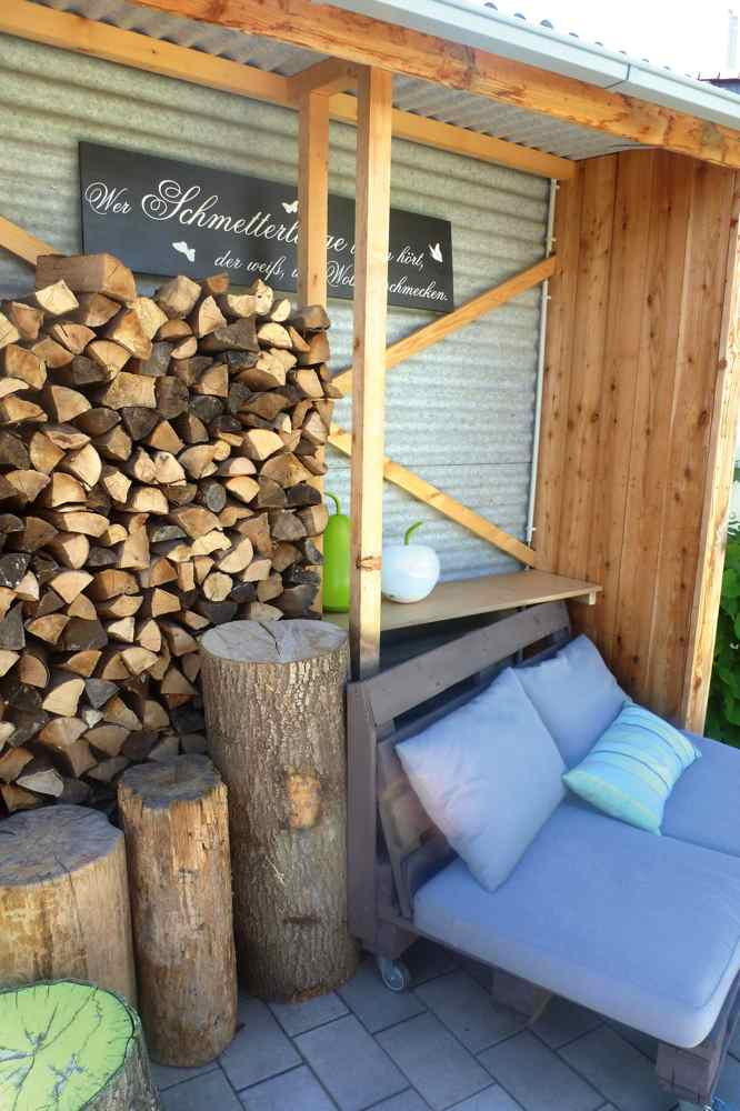 Garten | Holz | Sitzecke