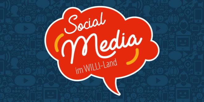 Social Media im WILLI-Land Symbolbild