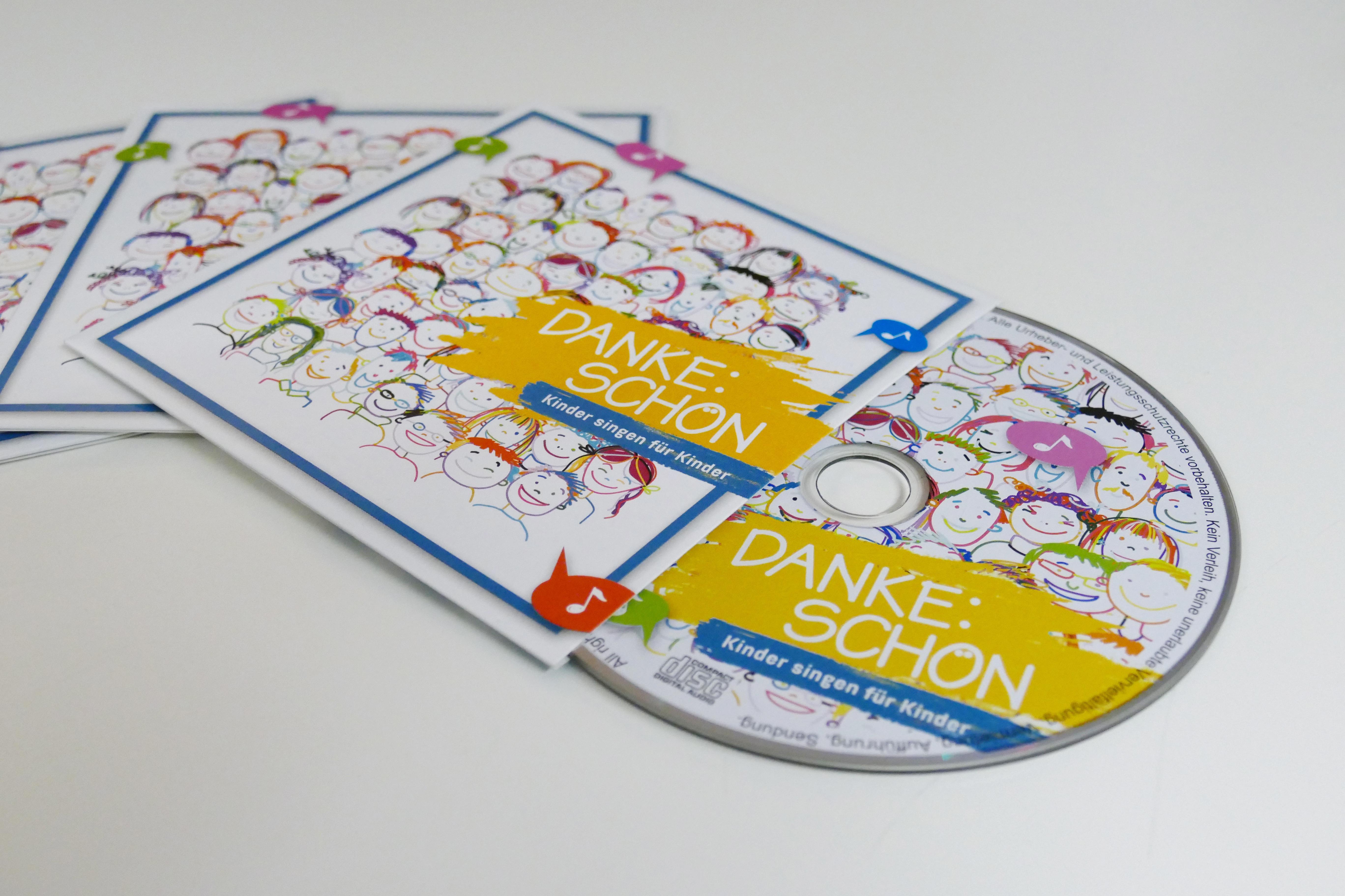 """CD """"Kinder singen für Kinder"""" von Sonja Oellermann"""