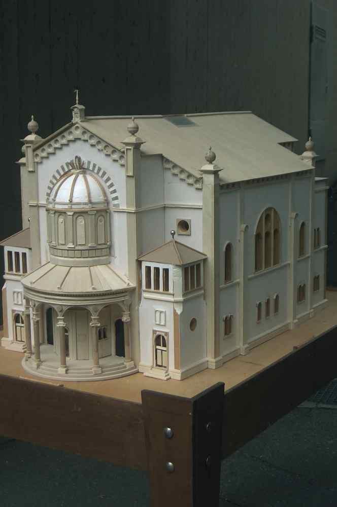 Modell der Synagoge | Bruchsal