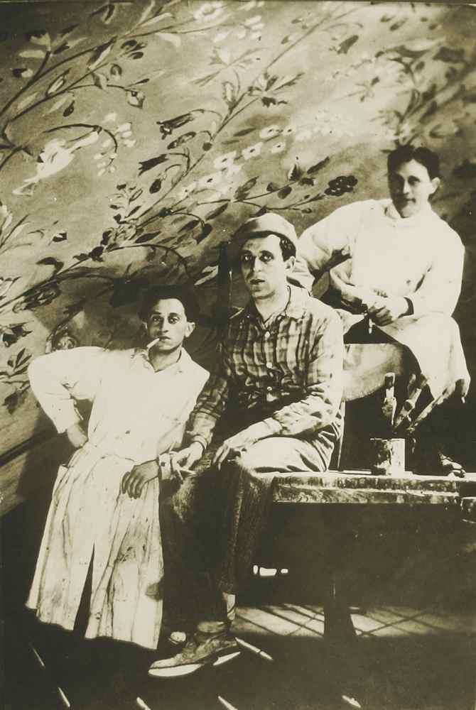Maler Leo Kahn | Synagoge Bruchsals