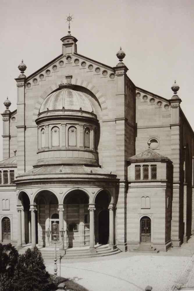 Bruchsals Synagooge | Franz-Josef Ziwes