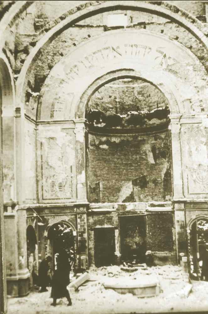 Zerstörte Synagoge | Bruchsal
