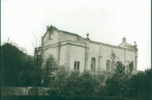 zerstörte Synagoge | Progromnacht | Bruchsal