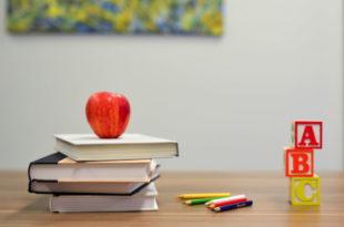 Schule, Apfel, Kinder, Jugend, Unterricht