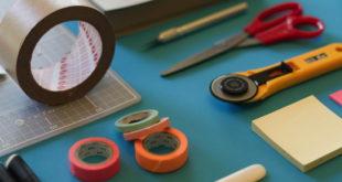 Werkzeug Schreibtisch Utensilien Basteln