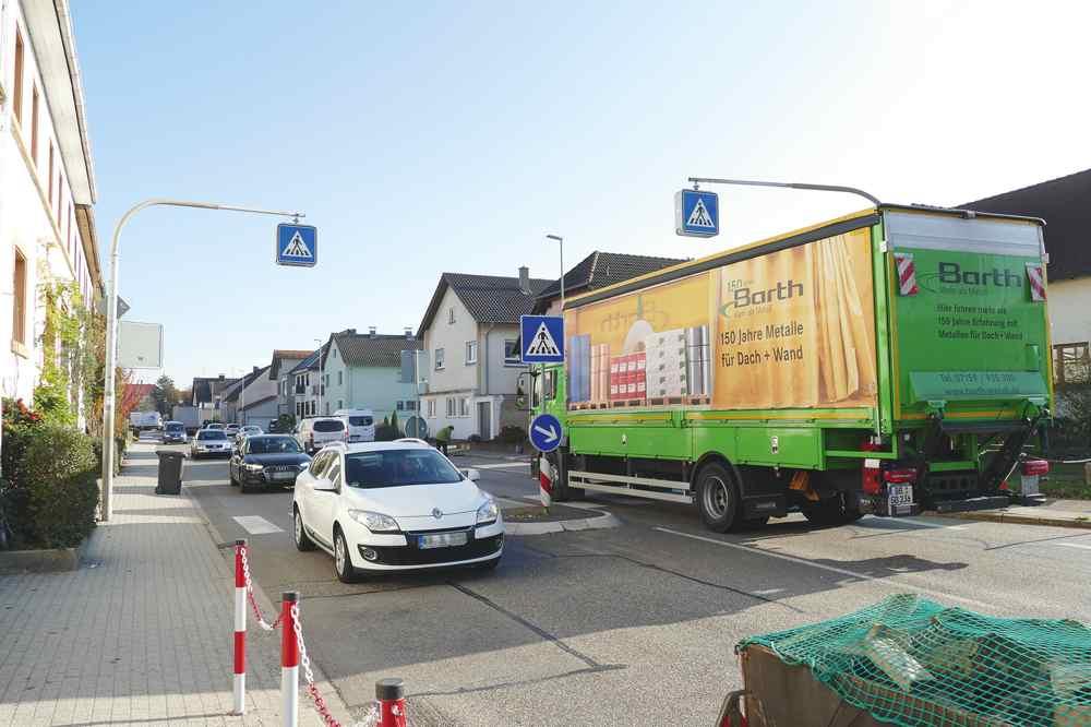 Zebrastreifen Münzesheim | Verkehr