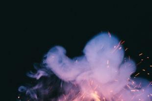 Flamme Funken Rauch nspl