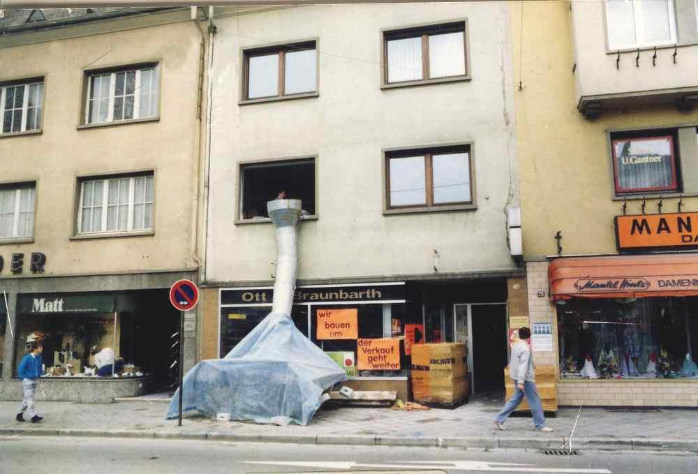 Erweiterung Buchhandlung Braunbarth