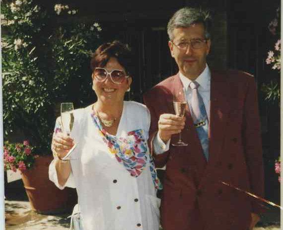 Werner und Anita Braunbarth | 1988 | Buchhandlung Bruchsal