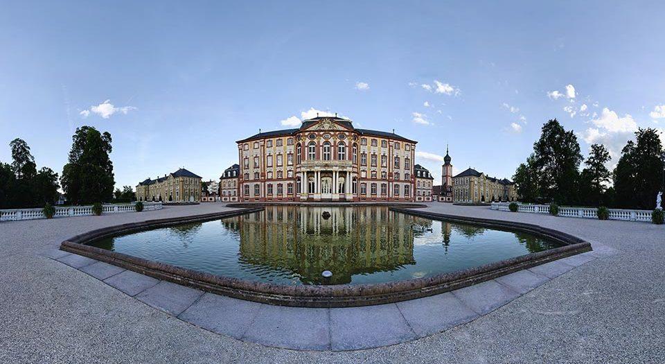 Bruchsal-Schloss-Gartenseite