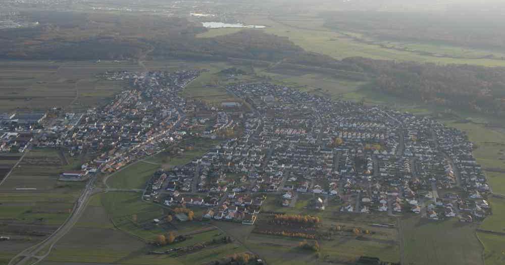 Hambrücken Luftbild