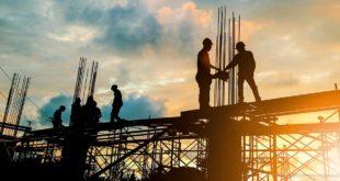 Bauunternehmen Industriebau Bauarbeiter Hochbau