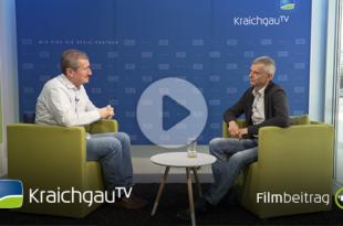 Hartmut Schönherr im Interview zum Thema Radfahren in Bruchsal