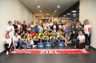 Bruchsal Hoffnungslauf Siegerehrung Caritas