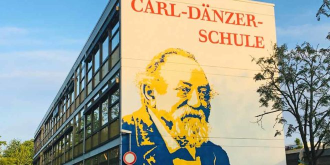 Schule Odenheim Wandportrait Carl-Dänzer-Schule Östringen Odenheim